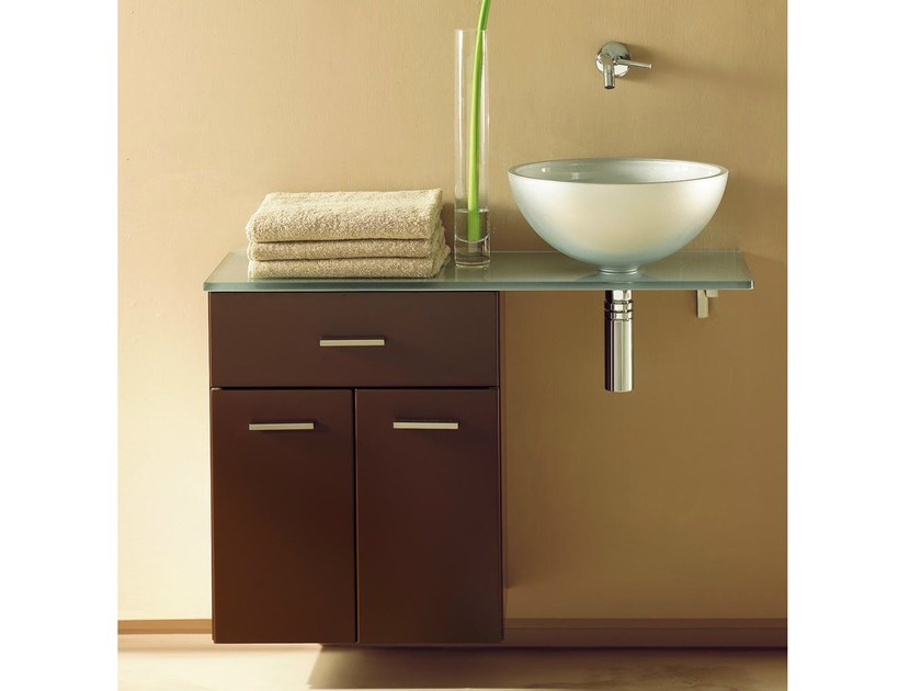 Single wall-mounted vanity unit COMPOS 201 | Vanity unit - LASA IDEA