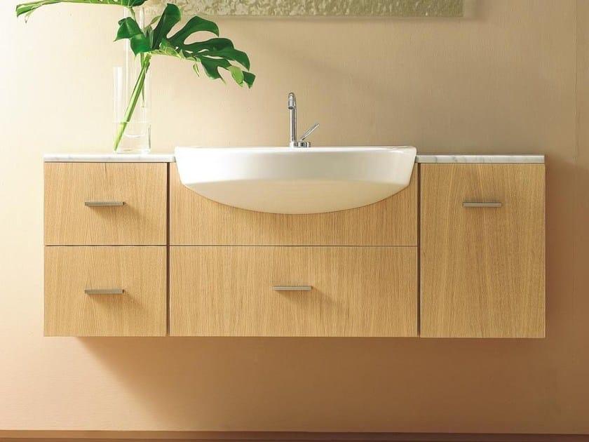 Single wall-mounted vanity unit COMPOS 40 - LASA IDEA