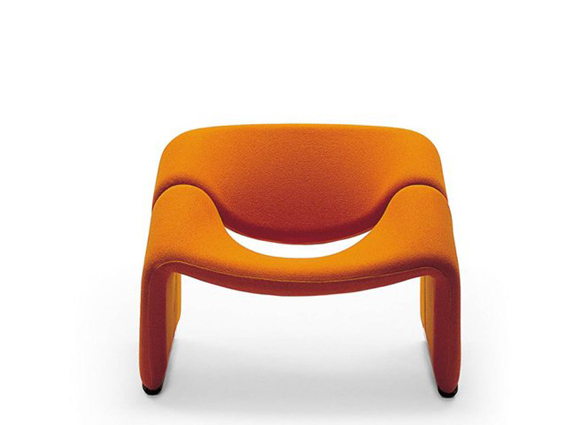 Upholstered armchair GROOVY by Artifort