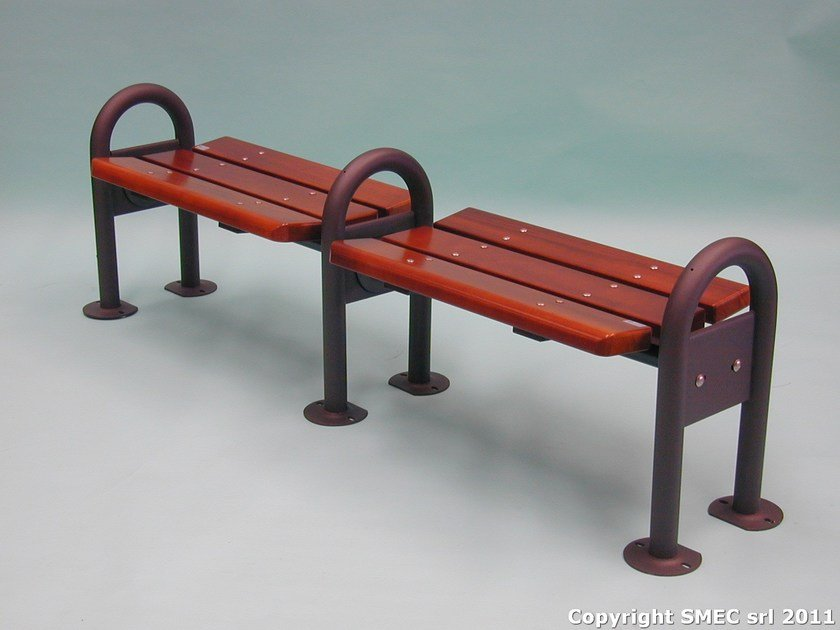 Classic style Modular wooden Bench MIRATA 750 by SMEC