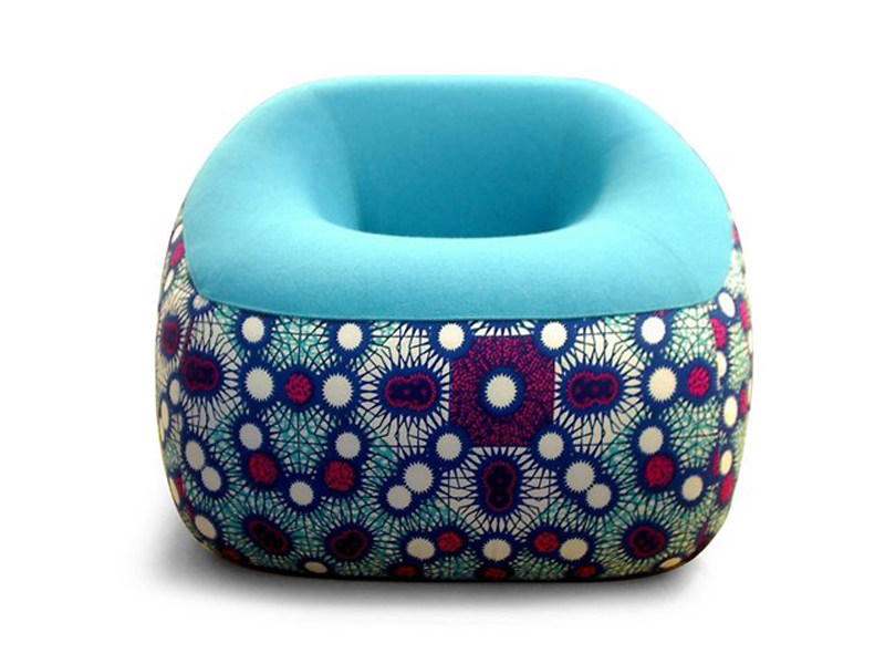 Fabric armchair SWAMP - Artifort