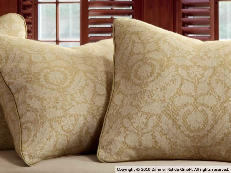 Linen upholstery fabric BRIAR ROSE by Zimmer + Rohde