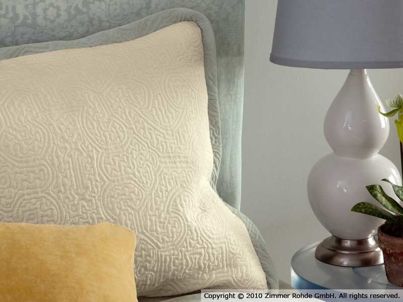Cotton upholstery fabric LABYRINTH - Zimmer + Rohde