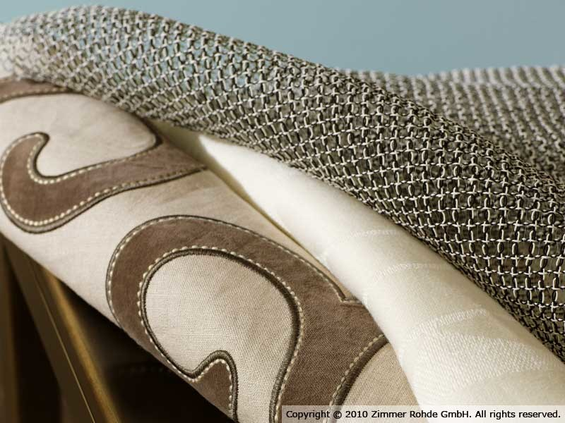 Linen upholstery fabric MANTRA by Zimmer + Rohde