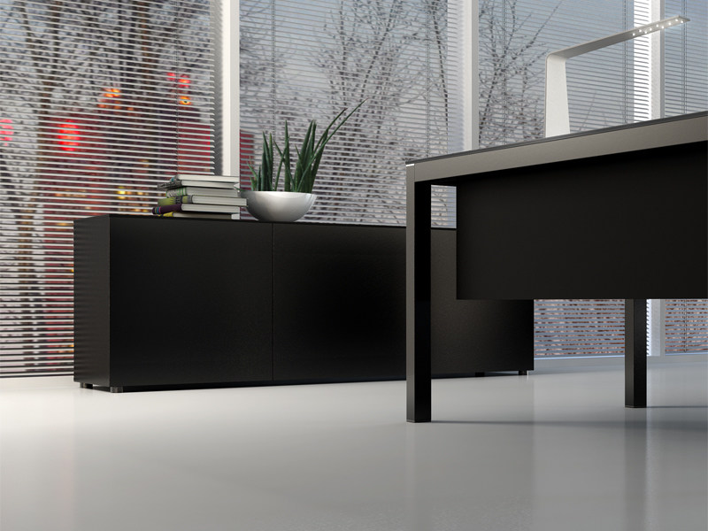 Mobile ufficio basso modulare impuls mobile ufficio for Mobile basso ufficio