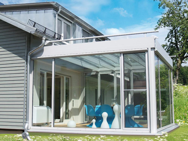 Aluminium glass facade PLANUM by TENDER
