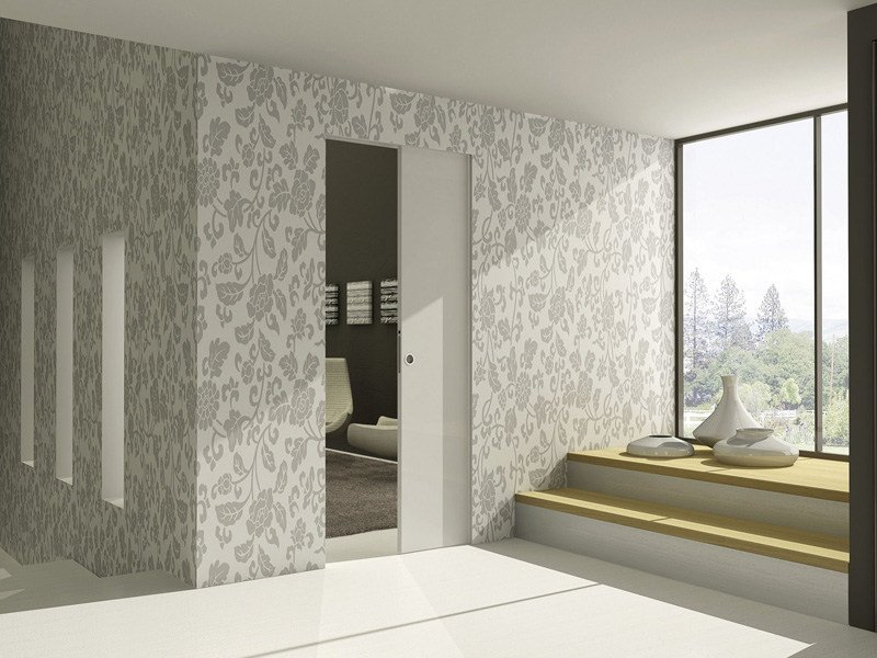 Pocket door system without jambs Eclisse SYNTESIS® LINE - Eclisse