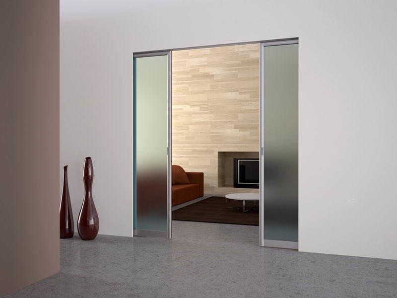 Syntesis controtelaio per porta scorrevole domus - Costruire porta scorrevole ...