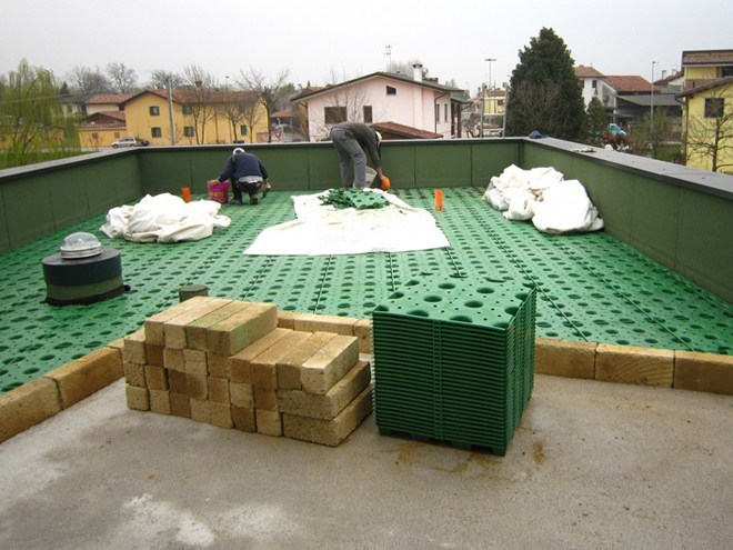 Sistema per tetto giardino WINDI DRAIN - PONTAROLO