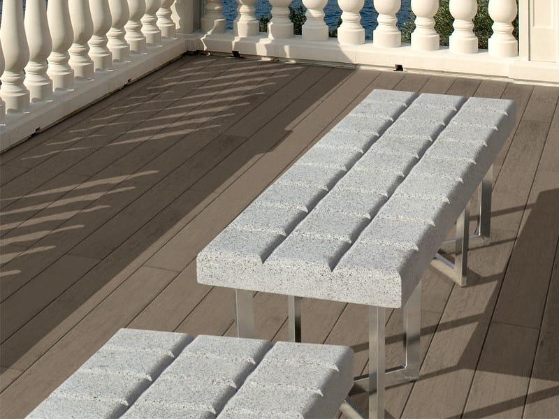 Bench BARCINO | Design garden bench - SAS ITALIA - Aldo Larcher