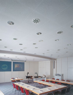 Acoustic fireproof ceiling tiles THERMATEX A AVANGUARD - Knauf AMF Italia Controsoffitti