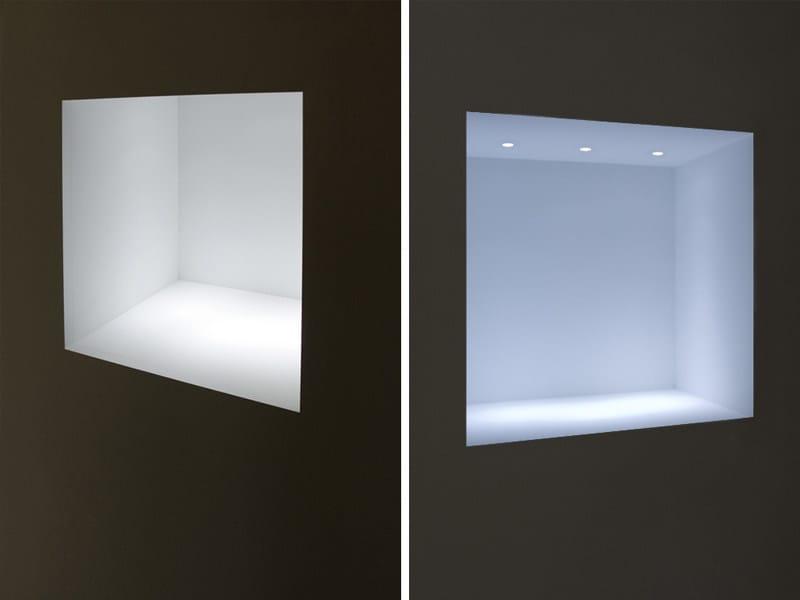 niche murale aperture speciali l 39 invisibile by portarredo. Black Bedroom Furniture Sets. Home Design Ideas