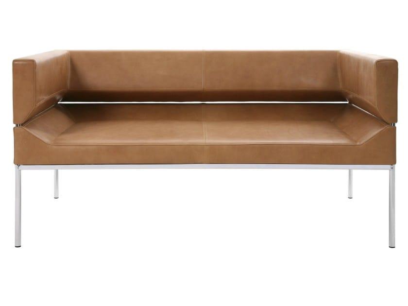 2 seater leather sofa FM   Leather sofa - KFF