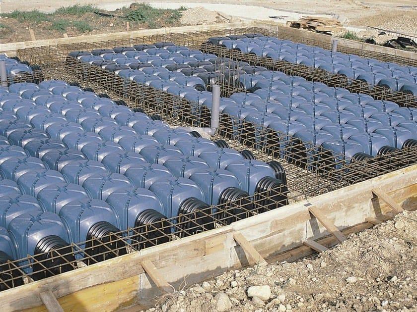 Cupolino in plastica e modulo per vespaio aerato cassero for Igloo edilizia prezzi