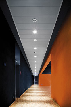 Acoustic fireproof ceiling tiles THERMATEX - LINEA F by Knauf Amf