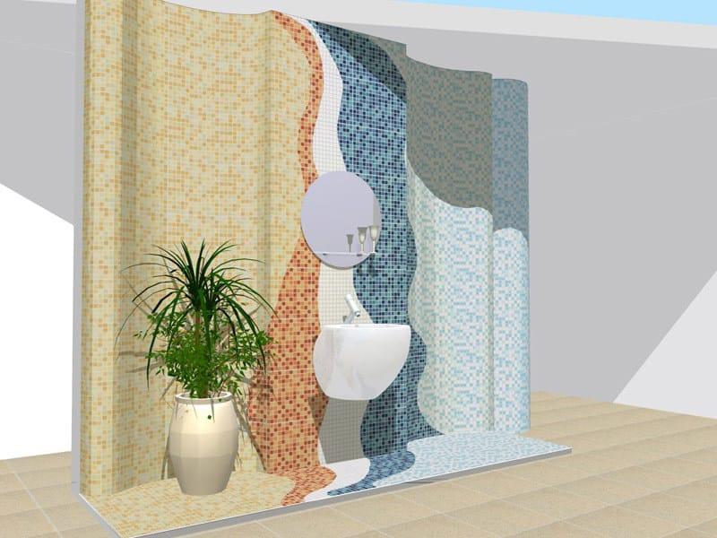 Progettazione posa di ceramiche e listelli di parquet for Listelli metallici