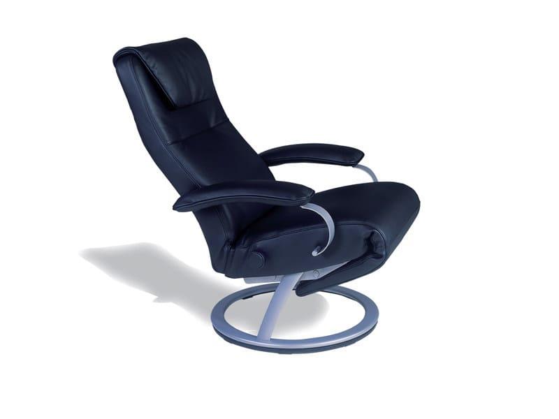 Poltrona ergonomica imbottita reclinabile galaxie - Poltrona relax ikea ...