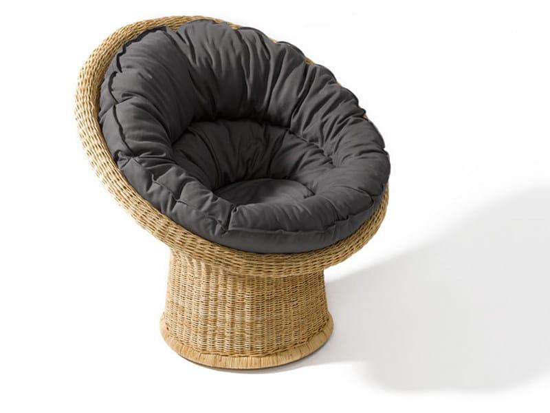 Rattan armchair E 10 - Richard Lampert