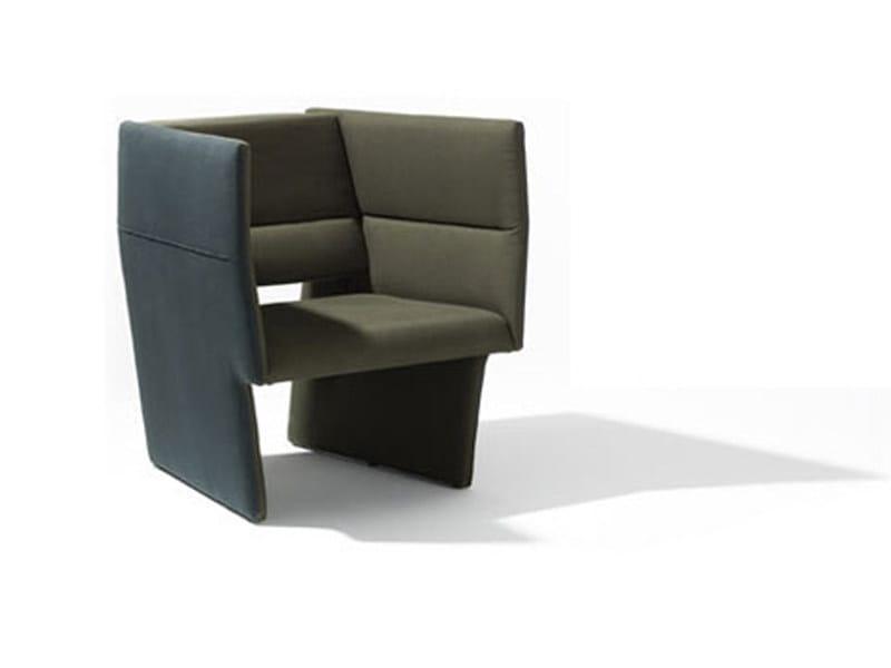 Upholstered armchair CUP   Armchair - Richard Lampert