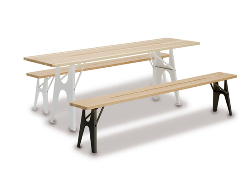 Wooden garden table LUDWIG | Garden table - Richard Lampert