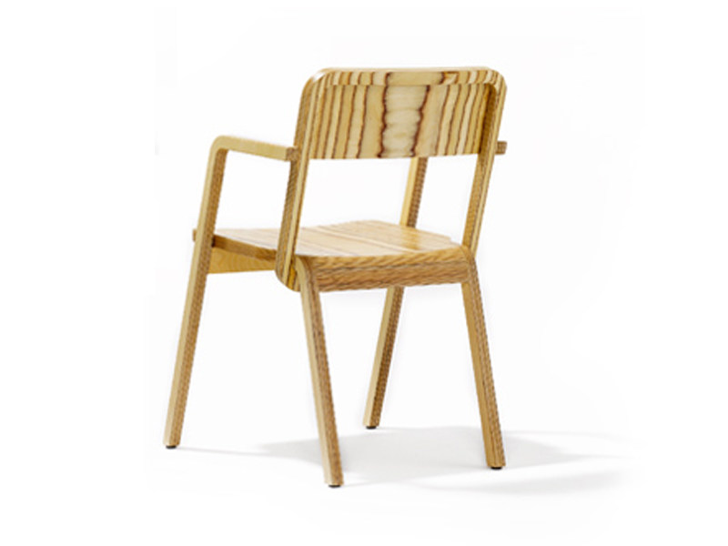 Birch chair PRATER - Richard Lampert