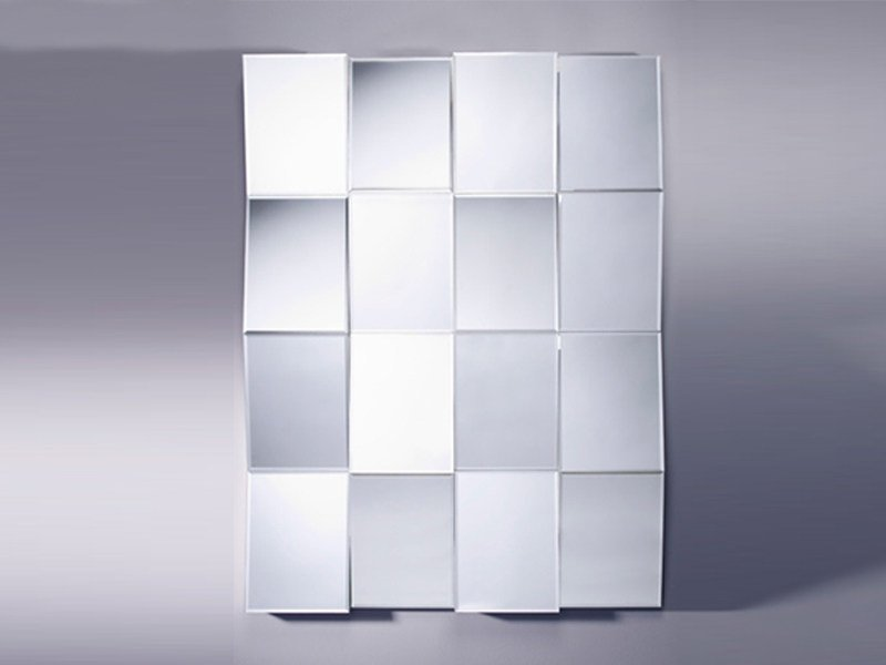 Rectangular mirror ZIG ZAG - DEKNUDT MIRRORS