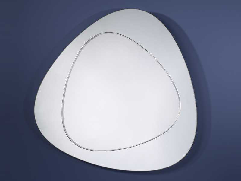 Oval mirror DEVOLUTION - DEKNUDT MIRRORS