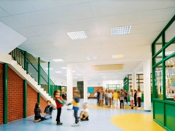 Acoustic glass wool ceiling tiles Ecophon MASTER™ by Saint-Gobain ECOPHON