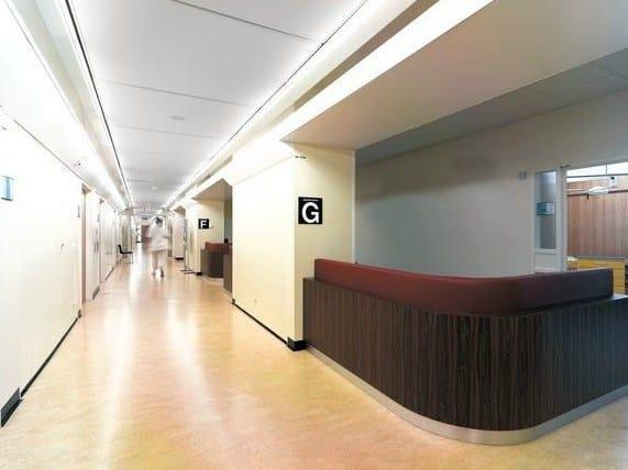 Acoustic glass wool ceiling tiles Ecophon Access™ A - Saint-Gobain ECOPHON
