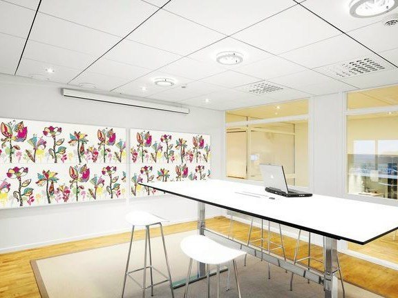 Glass wool decorative acoustical panels Akusto™ Wall C - Saint-Gobain ECOPHON