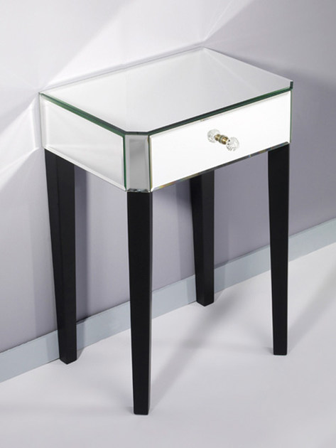 Bedside table with drawers GENTLY SMALL - DEKNUDT MIRRORS