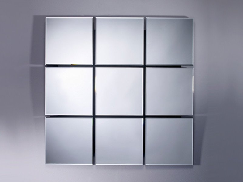 Square mirror QUARTO - DEKNUDT MIRRORS
