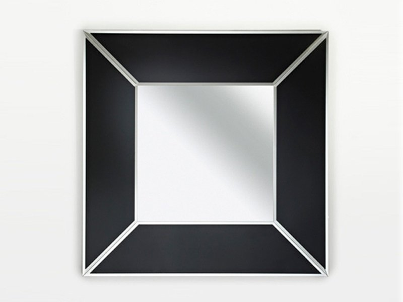Framed mirror COUTURE SQUARE - DEKNUDT MIRRORS