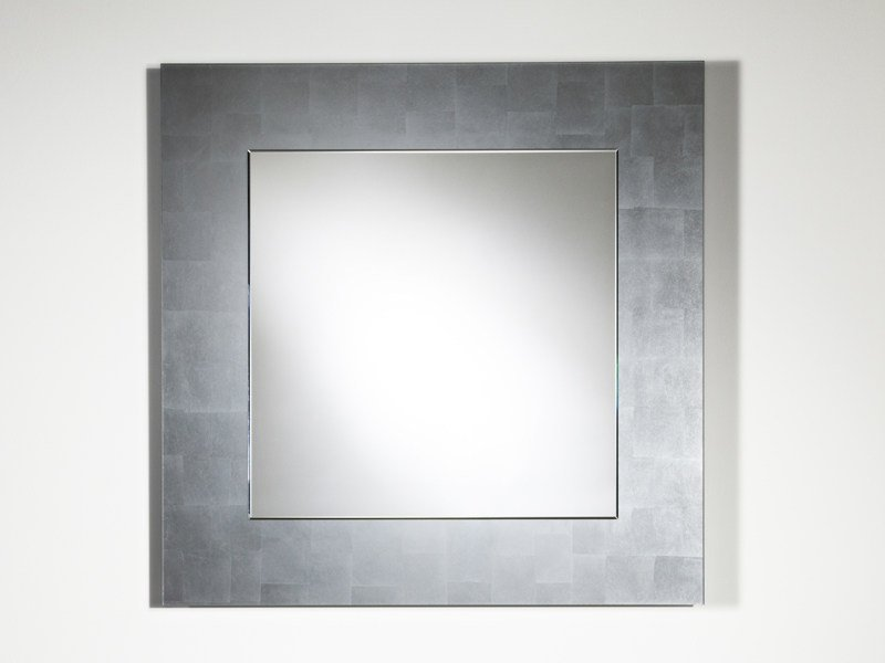 Framed mirror BASIC SILVER - DEKNUDT MIRRORS