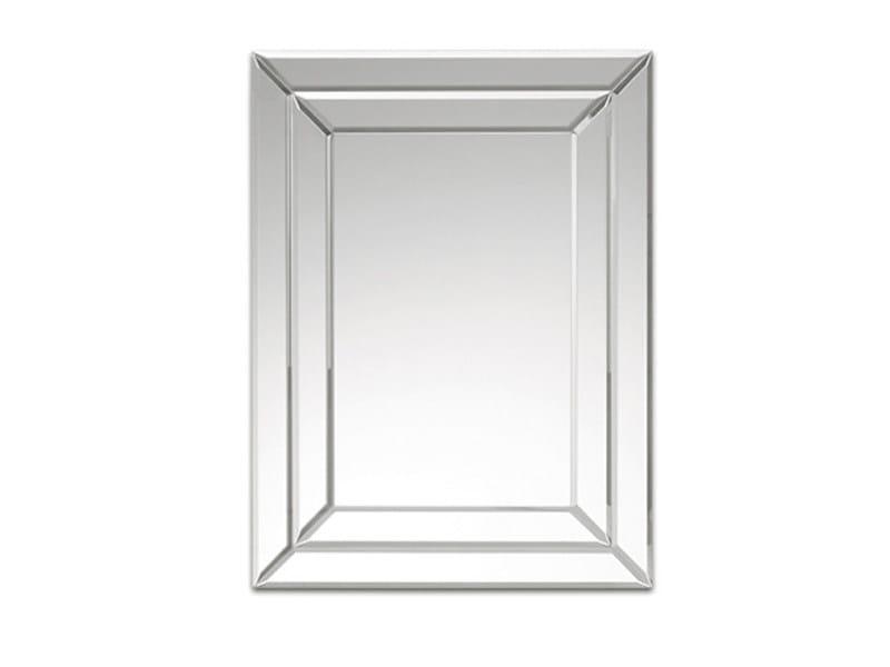 Rectangular mirror DOUBLE STRIPS - DEKNUDT MIRRORS