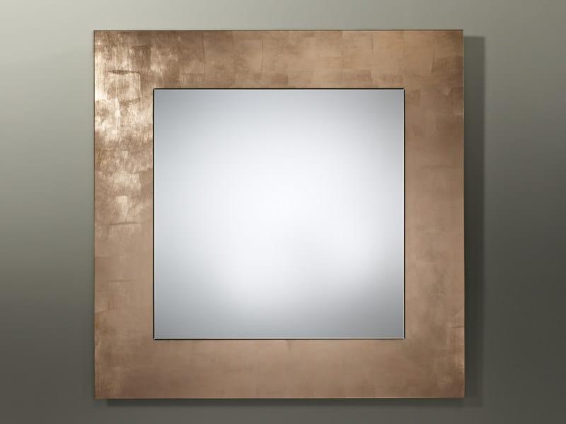 Framed mirror BASIC CUPPER - DEKNUDT MIRRORS