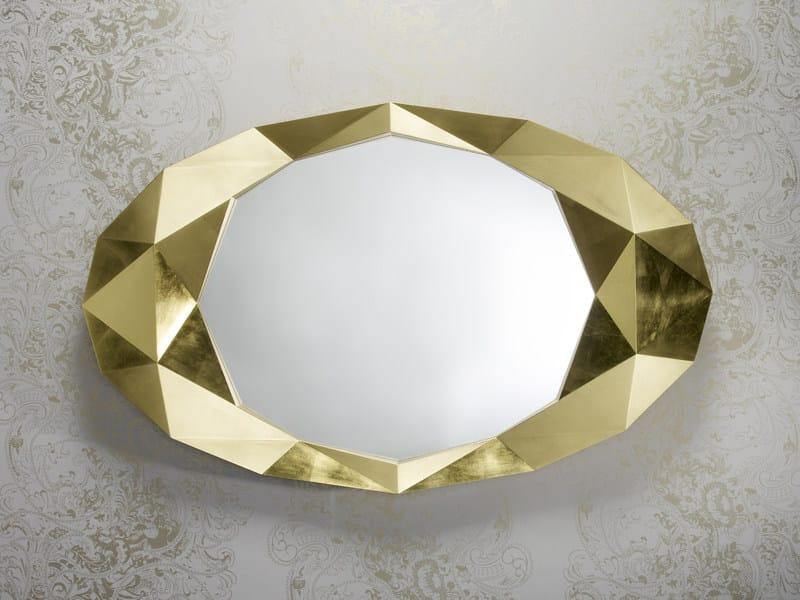 Oval mirror PRECIOUS - DEKNUDT MIRRORS