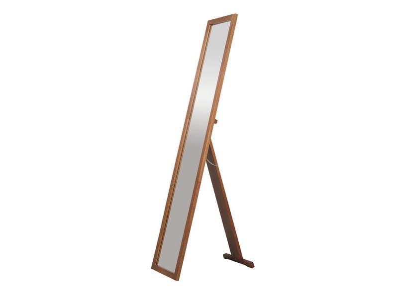 Framed rectangular mirror WOODY - DEKNUDT MIRRORS