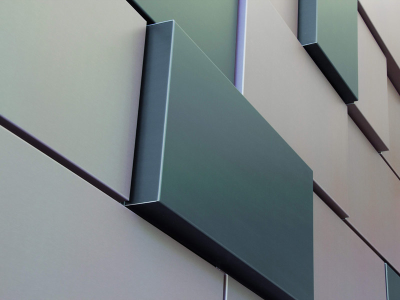 Metal sheet and panel for facade MOZAÏK® - UMICORE BUILDING PRODUCTS ITALIA