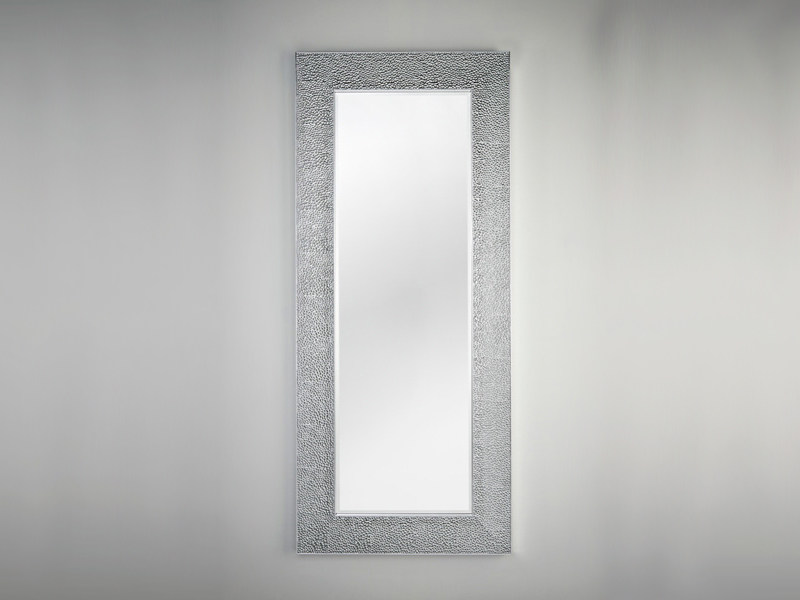 Framed square rectangular mirror OSLO SILVER - DEKNUDT MIRRORS