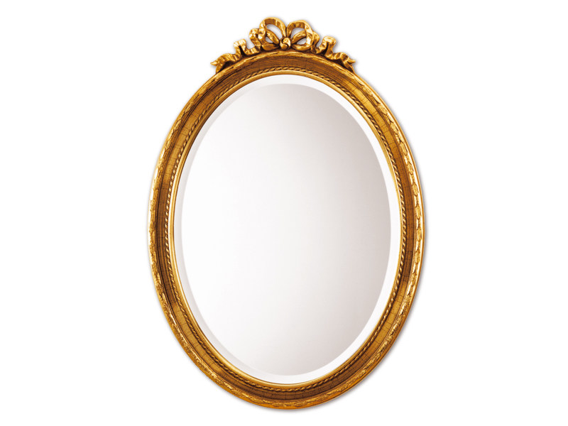 Framed oval mirror COQUETTE - DEKNUDT MIRRORS
