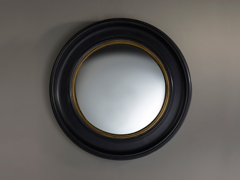 Framed round mirror CONVEX LARGE - DEKNUDT MIRRORS