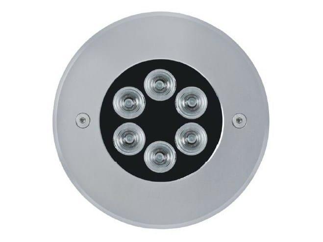 LED aluminium Floor Light 1200 MINI Anello Inox - Platek