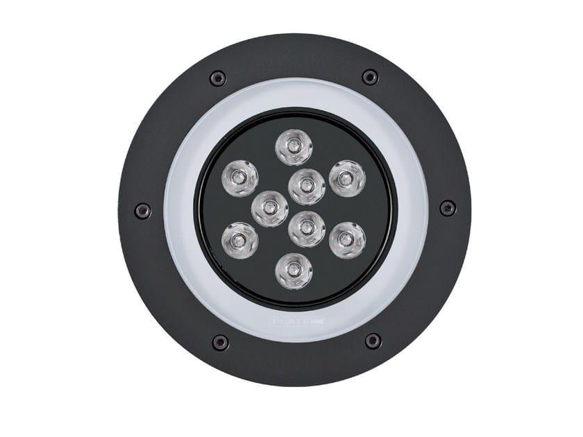 LED walkover light aluminium steplight 2100 MEDIO   Steplight - Platek
