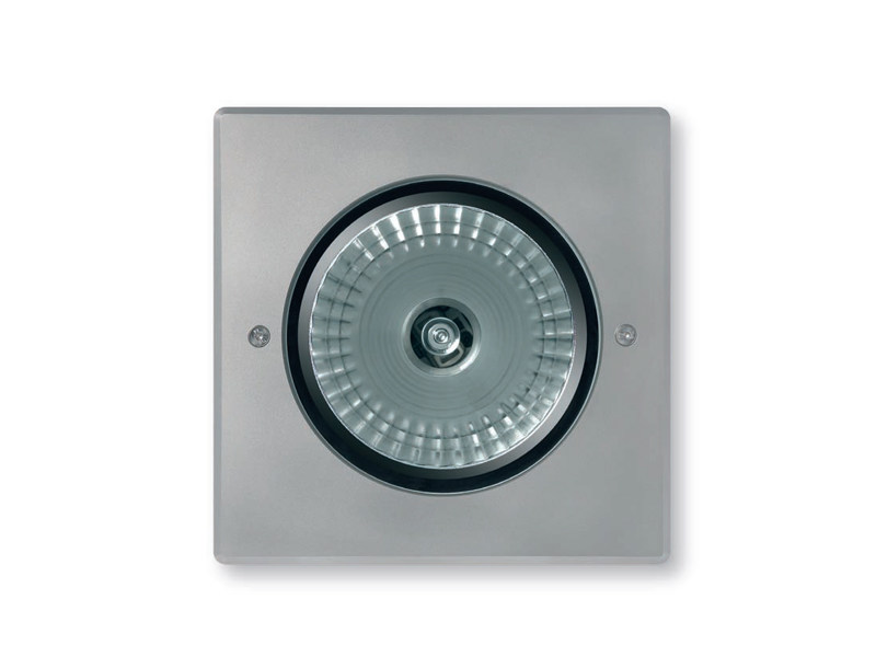LED aluminium Outdoor floodlight 2100 MEDIO Cornice Inox by Platek