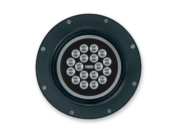 LED aluminium Outdoor floodlight 2900 GRANDE - Platek