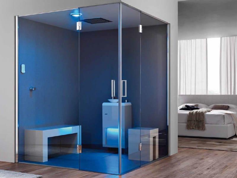 Bagno turco per aromaterapia rigenera 70 gruppo geromin - Colonna doccia bagno turco ...