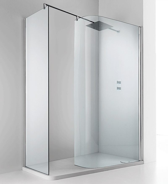 Shower cabin with tray LUXOR 140 A - RELAX