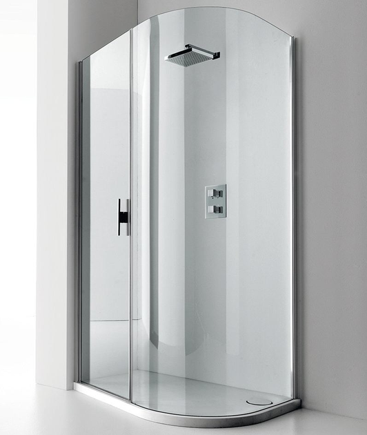 Shower cabin with tray LUXOR 140 S - RELAX