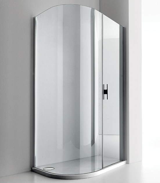 Shower cabin with tray LUXOR 120 S by RELAX